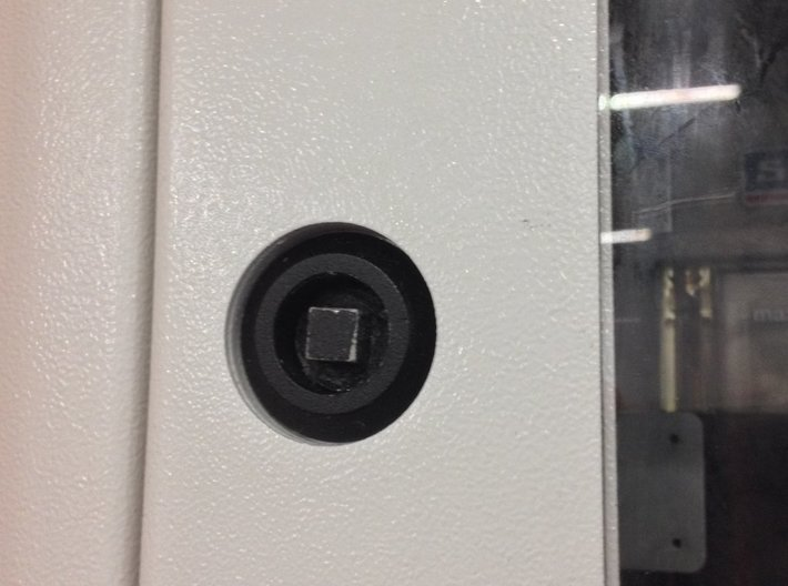 LCP0103-1, Mikron Door Knob Type A 3d printed Where it goes