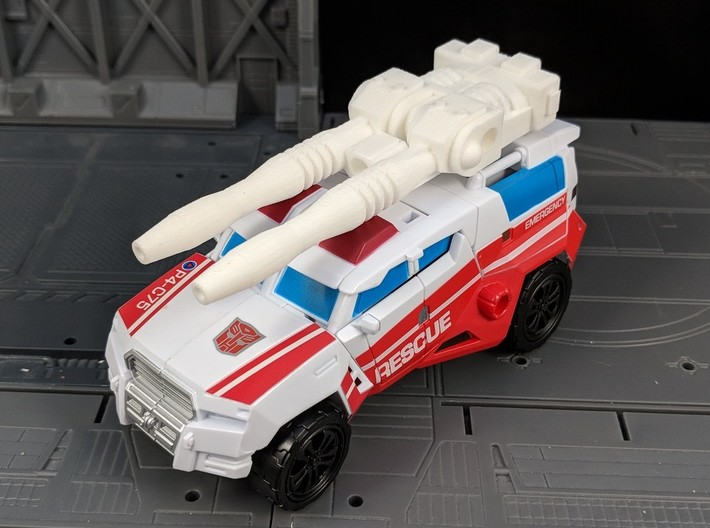 TF Combiner Wars First Aid Car Cannon 3d printed