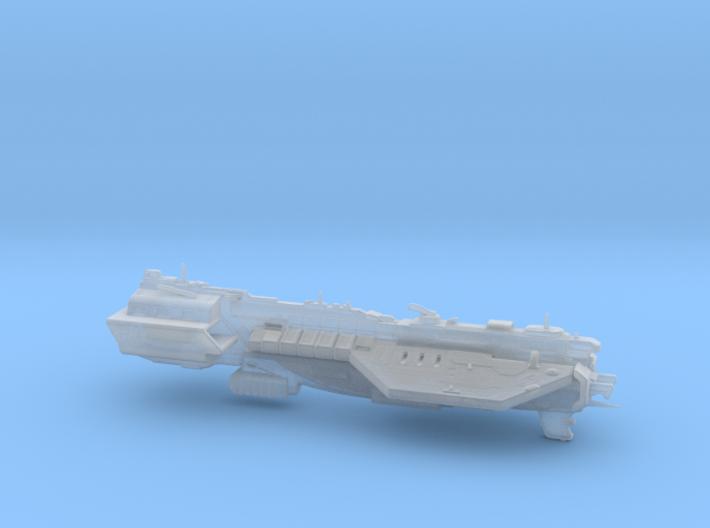 UNSC Assault Carrier Defiant class 3d printed