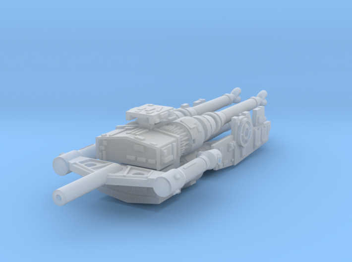 YT1300 5 FOOTER LASER CANNONS W YOKE 3d printed