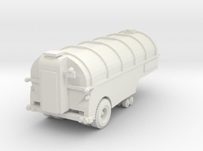 Milk trailer tank 64 scale 3d printed Milk tank trailer S scale 1/64