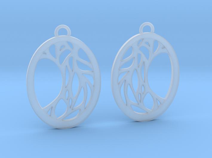 Meliae earrings 3d printed