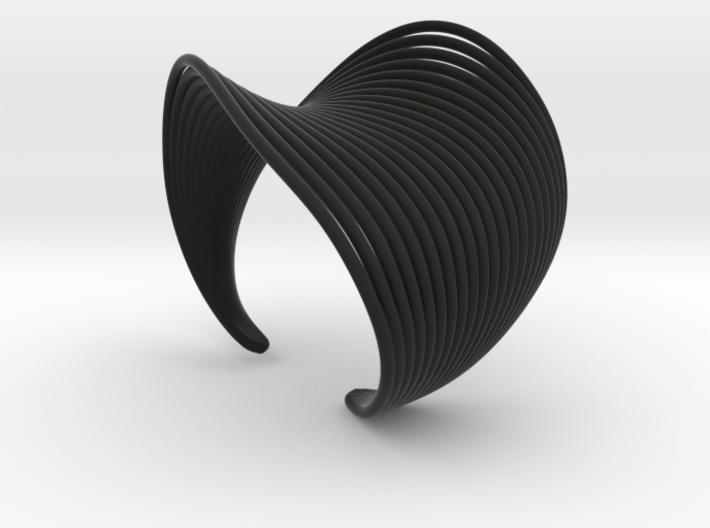 VEIN Cuff Bracelet 3d printed
