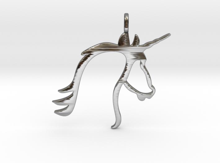 Unicorn 3d printed