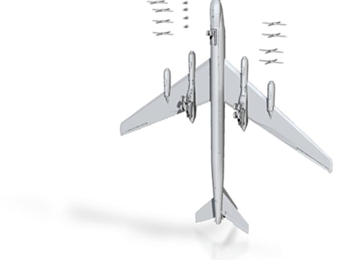 1:200 Tupolev TU-95 Bear Bomber 3d printed