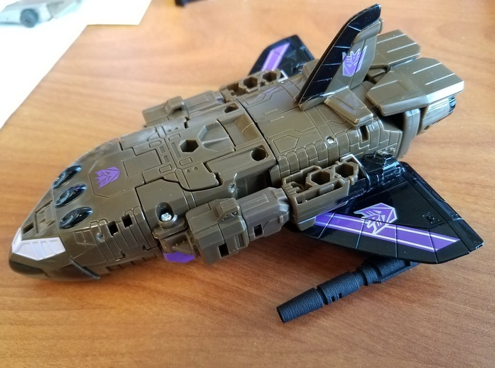 UW Blast Off Leg Guns 3d printed
