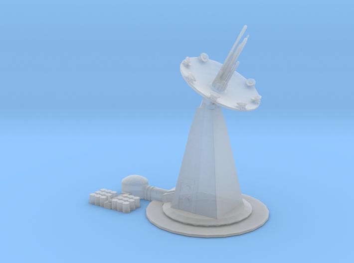 Death Star`s Endor Shield generator SLD-26 3d printed