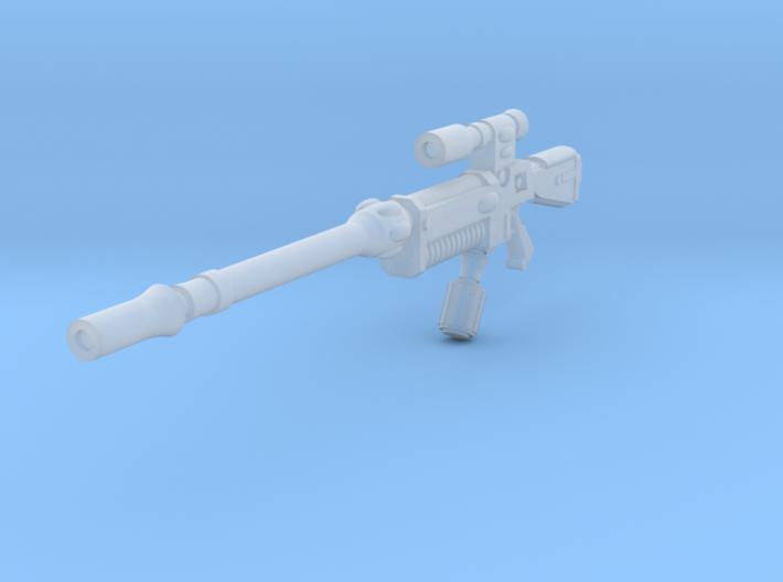 28mm space elf sniper rifle 3d printed