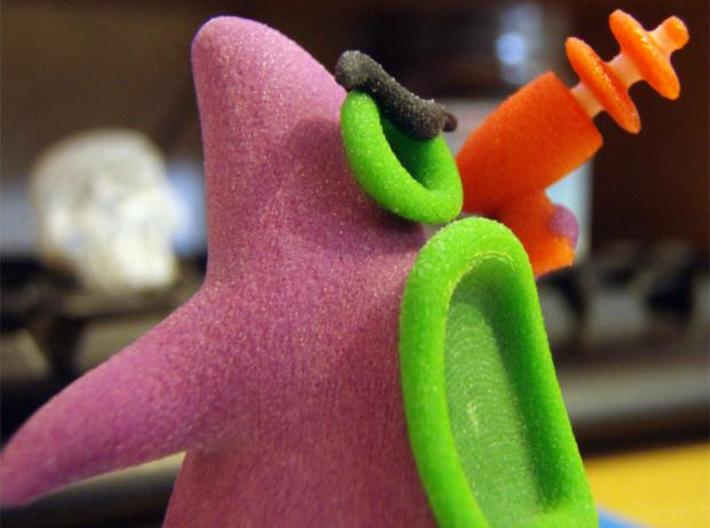 Day of the tentacle purple 6cm 3d printed