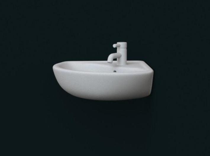 1:39 Scale Model - Corner Sink 01 3d printed