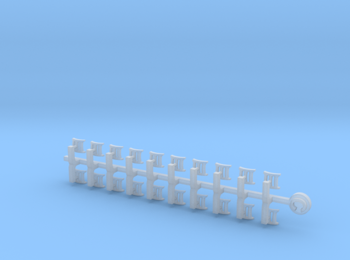 20x III : Small Concave Insignias 3d printed