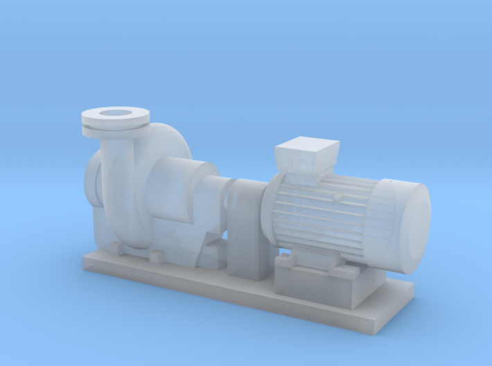 Centrifugal Pump #2 (Size 4) 3d printed