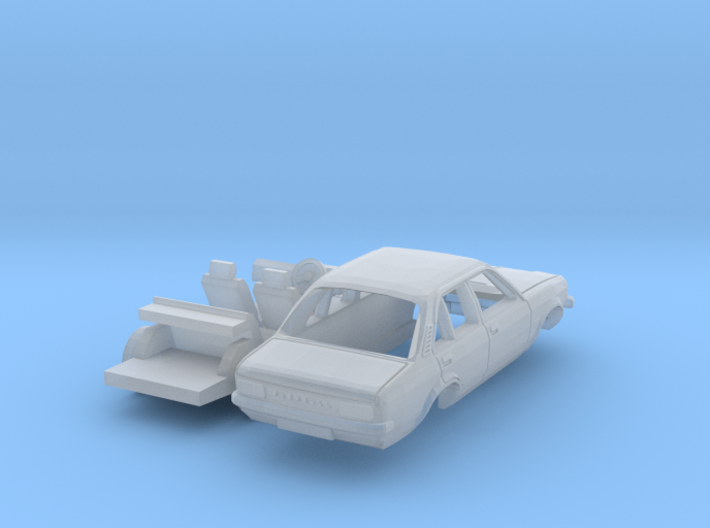 Vauxhall Chevette 4-door saloon (N 1:160) 3d printed