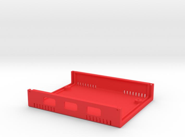 USB Sidecar for MiSTer Case B Shell (1/2) (v1.1) 3d printed