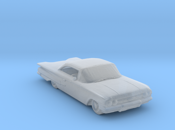 Jeepers creeper 60 chevy 160 scale 3d printed