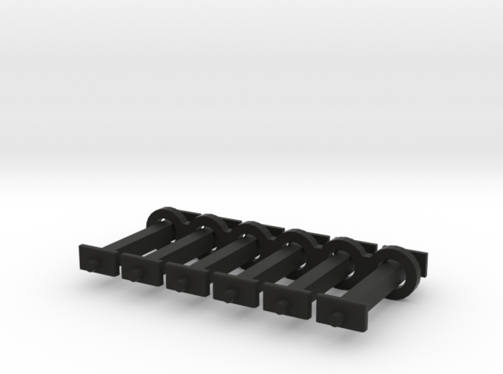 N Scale 13mm Fixed Coupling Drawbar x6 3d printed