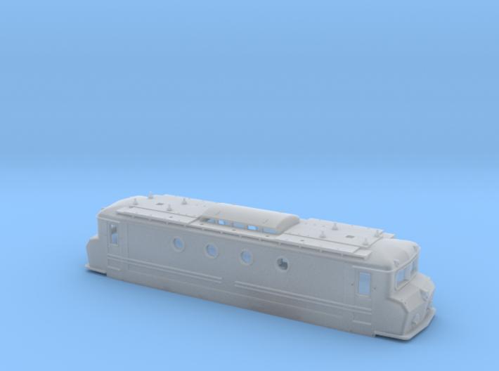 NS1100 botsneus blauw voor Piko pantografen 3d printed