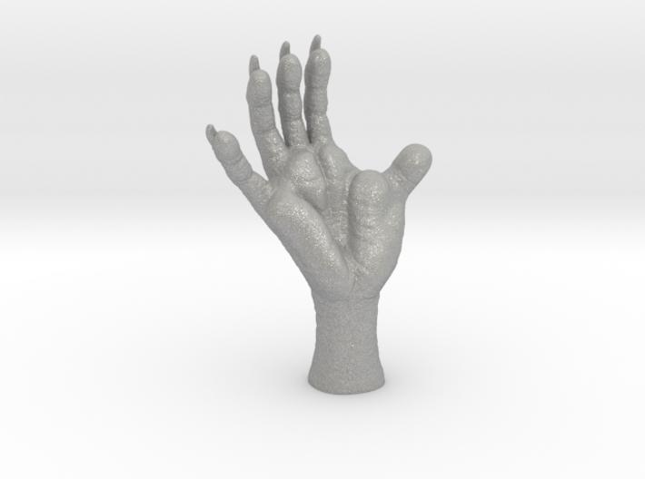 3 inch Opossum Foot- Plastics & metals 3d printed