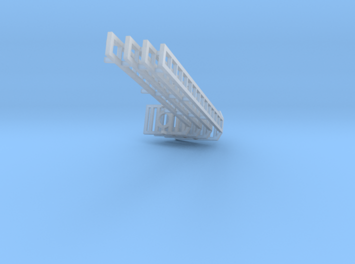 ladder 4 pc 2 in 14ft  Assembly (1) 3d printed