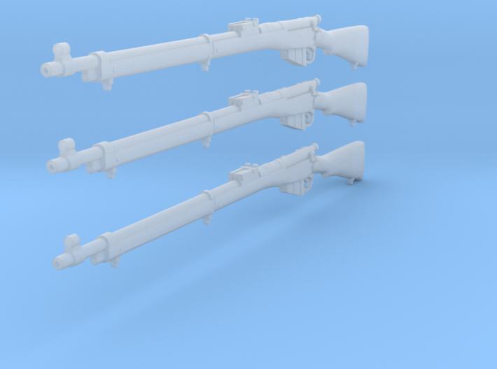 1/12 Lee Enfield Mk1 rifle 3d printed