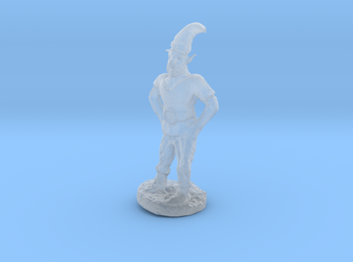 Gnome Mountaineer 3d printed