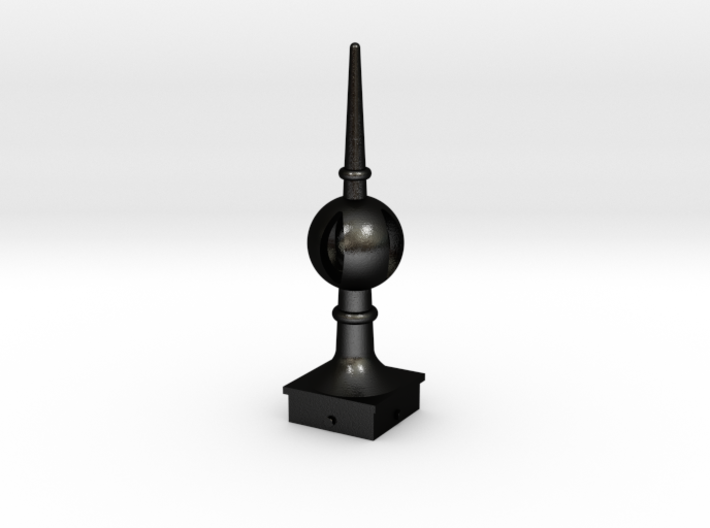 Signal Semaphore Finial (Open Ball) 1:19 scale 3d printed