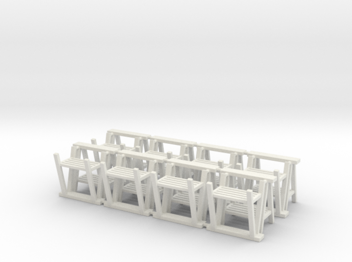 Trestle 01. 1:48 Scale 3d printed