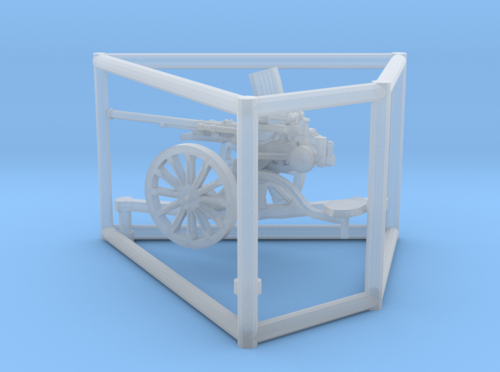 1/87 IJA Type 98 20mm anti-aircraft gun 3d printed