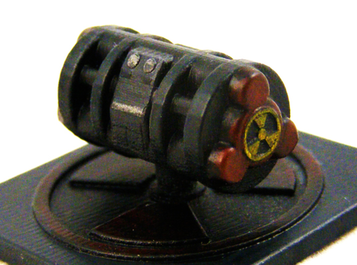 "B-9a ""Gatebuster"" Token 3d printed Tauri ""Gatebuster"" in Smooth Fine Detail Plastic"