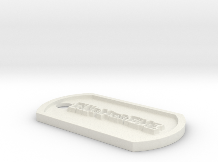 Persona 5 'Take Your Time' Themed Dog Tag 3d printed