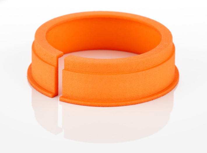 Tripod Collar Spacer for Novoflex LEMA and ASTAT N 3d printed Printed in Orange