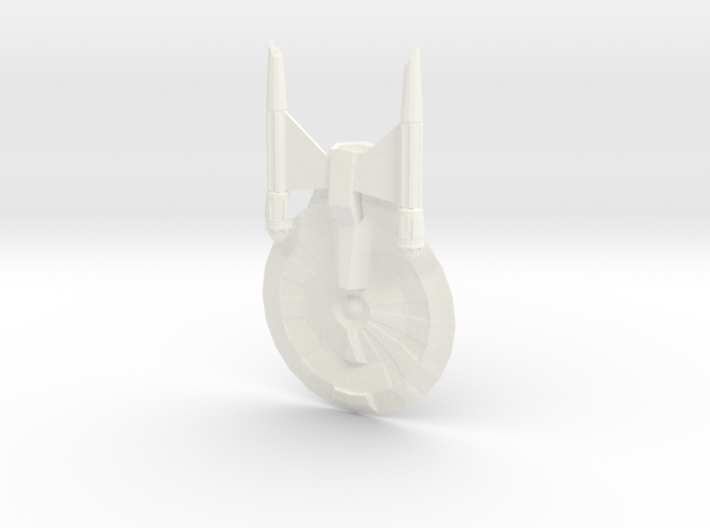 USS Entrepenuer 3d printed