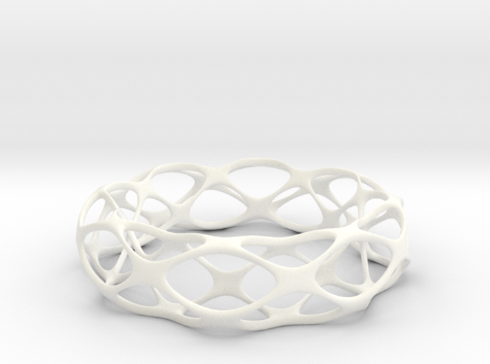 Partition Plane Bangle 3d printed