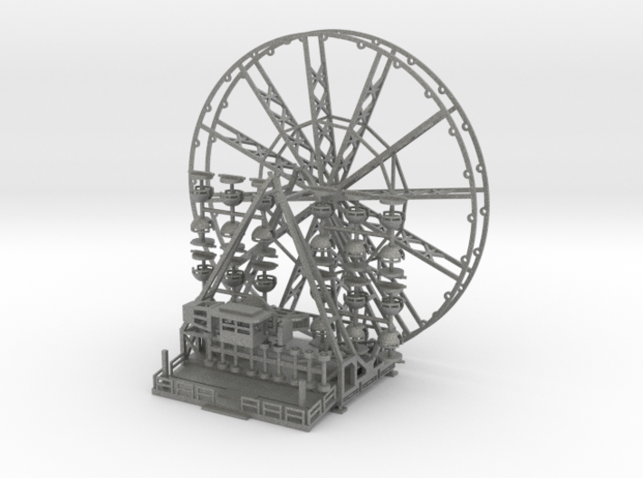 Riesenrad Version 2 - 1:220 (z scale) 3d printed