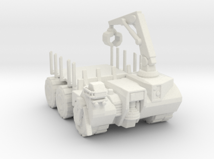 Hell truck Flatbed 160 scale 3d printed