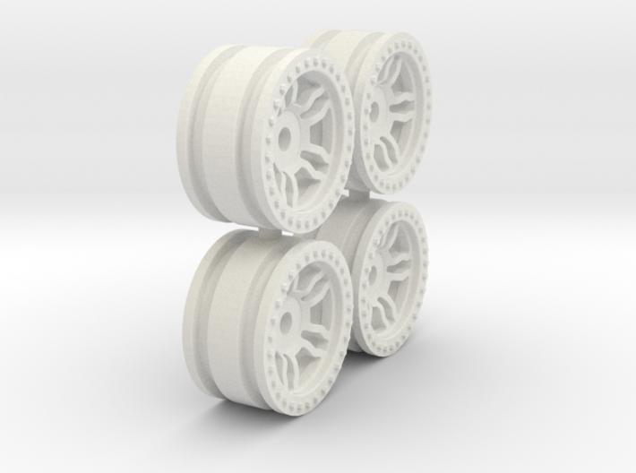 Orlandoo RC Wheels - V1 2mm offset 3d printed