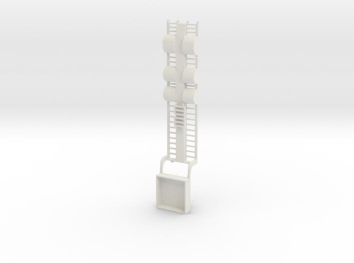 000439 Tieflader für Bau und Forstmaschinen HO 1:8 3d printed