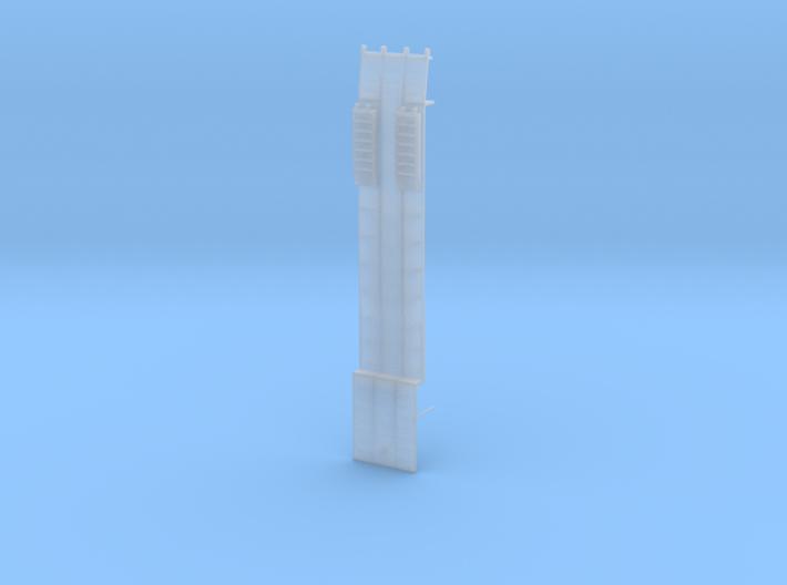 000472 Low Loader HO 1:87 3d printed
