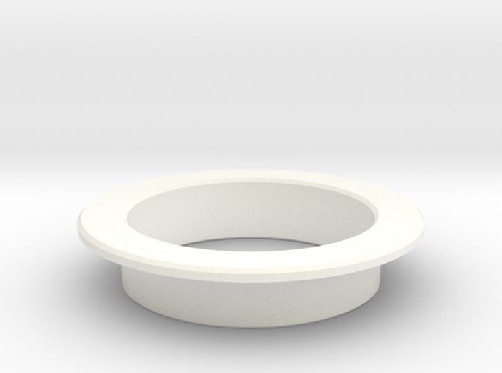 Pinball Start Button Dress Ring - Large Lip 3d printed