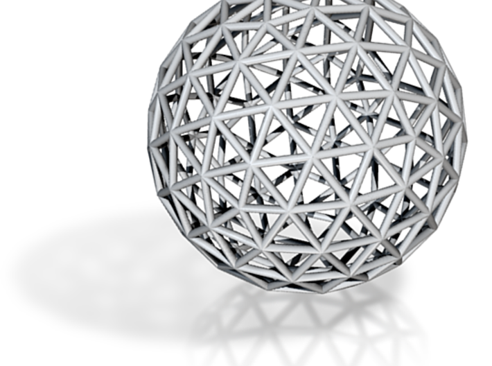 GeodesicIcosahedron6-wire 3d printed