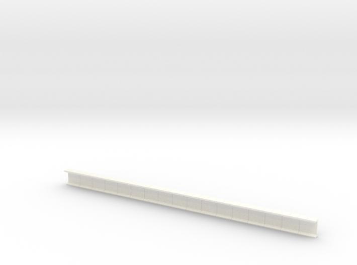 N Platform Wall 159mm 3d printed