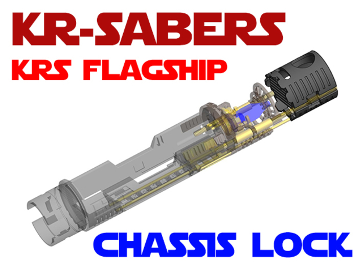 KRS Flagship - Chassis Lock / Aux Switch 3d printed