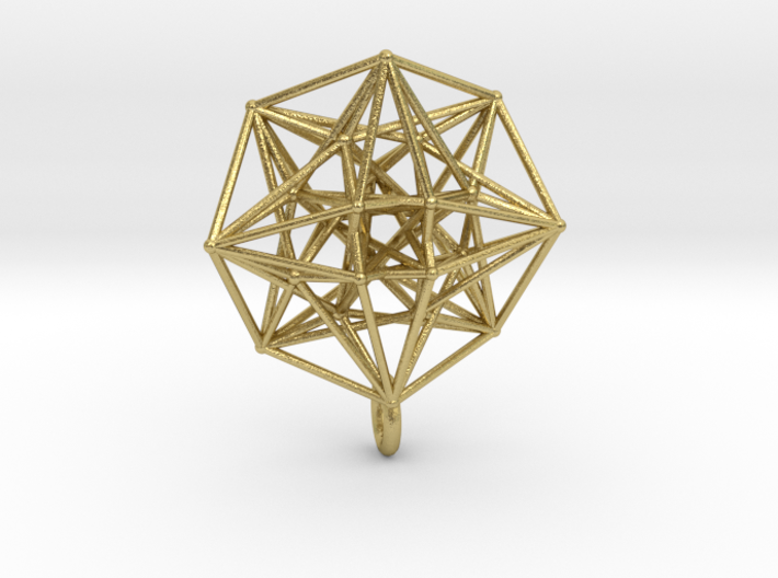 4D Vector Equilibrium Metatron's Compass 32mm - sm 3d printed