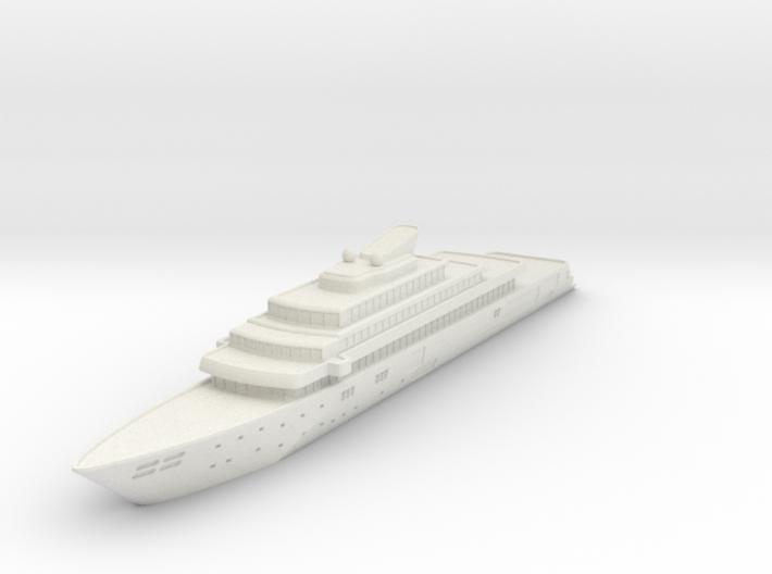 Miniature Rising Sun Yacht - 10cm 3d printed
