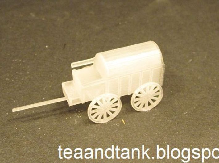 1/144 horse drawn cart German Wehrmacht 3d printed