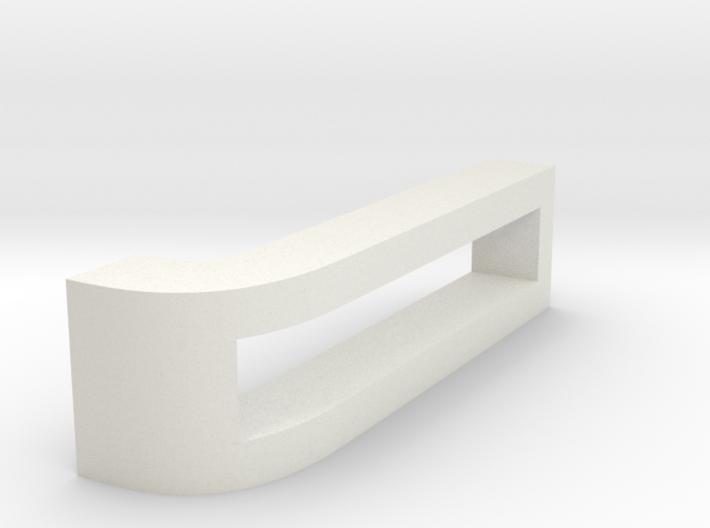 CHOKER SLIDE LETTER J 1⅛, 1¼, 1½, 1¾, 2 inch sizes 3d printed