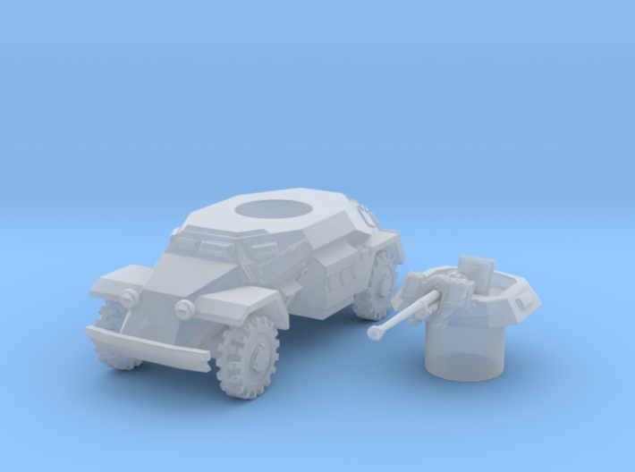 sdkfz 221 scale 1/144 3d printed