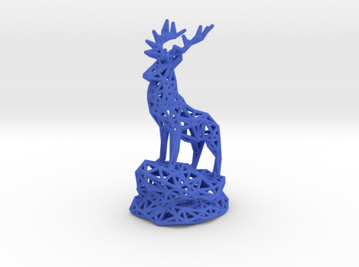 Deer(Adult Male) 3d printed