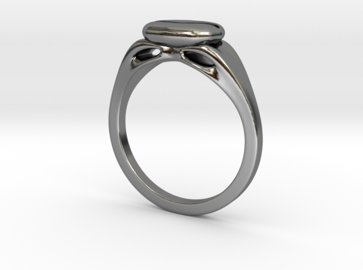 The Coffee Ring 3d printed