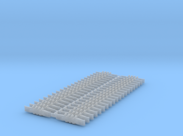 Crawler Track - 1-160 Scale - Set of 40 3d printed